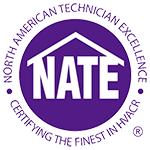 Cooper Heating and Cooling NATE Certified HVAC Technicians